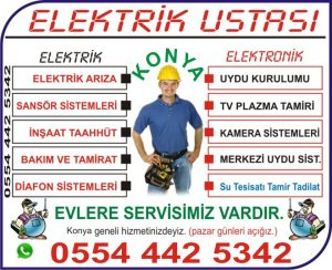 Elektrikçi Ustası Konya